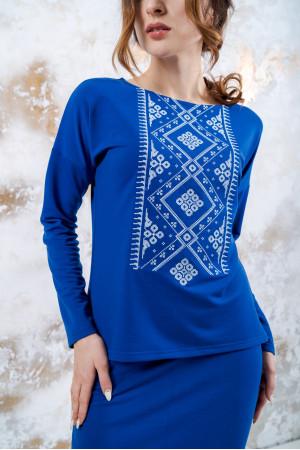 Костюм «Витонченість» синього кольору
