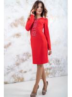 Платье «Феерия» красного цвета