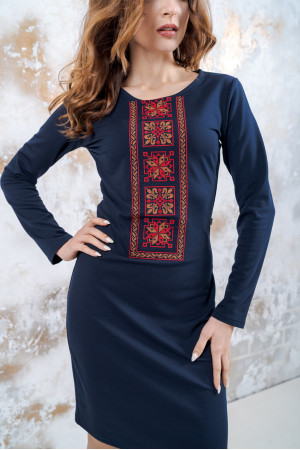 Сукня «Феєрія» темно-синього кольору