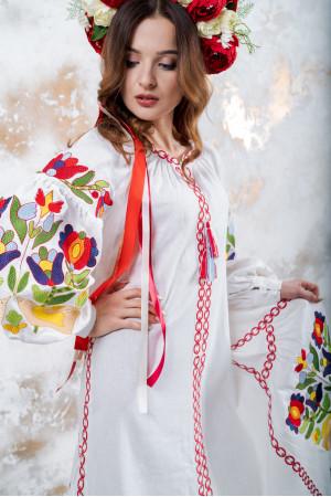 """Платье """"Флора"""" белого цвета"""