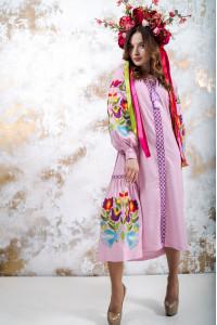 """Сукня """"Флора"""" рожевого кольору"""