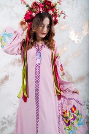 """Платье """"Флора"""" розового цвета"""