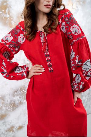 Сукня «Чарівність» червоного кольору