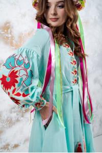 Сукня «Колорит» кольору м'яти