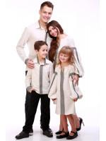 Семейный комплект «Думка» молочного цвета