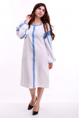 Сукня «Думка-2» з блакитним орнаментом