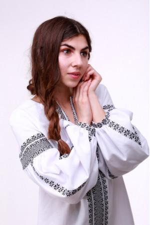 Сукня «Думка» з широким сірим орнаментом