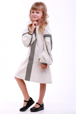 Сукня для дівчинки «Думка» молочного кольору