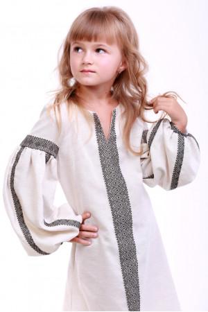 Платье для девочки «Думка» молочного цвета