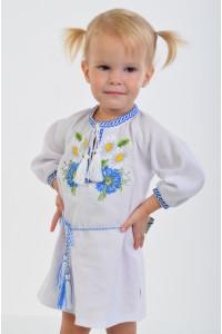 Сукня для дівчинки «Волошкові мрії» з поясом