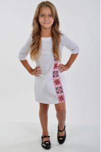Сукня для дівчинки «Феєрія» білого кольору
