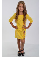 Платье для девочки «Феерия» желтого цвета
