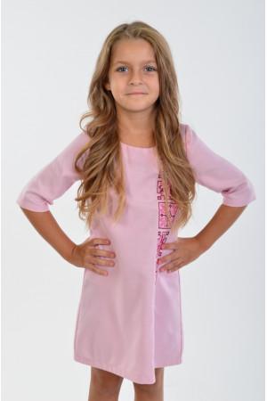 Платье для девочки «Феерия» розового цвета