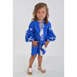 Сукня для дівчинки «Грація» синього кольору