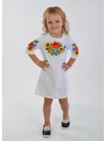 Платье для девочки «Украинский букет»