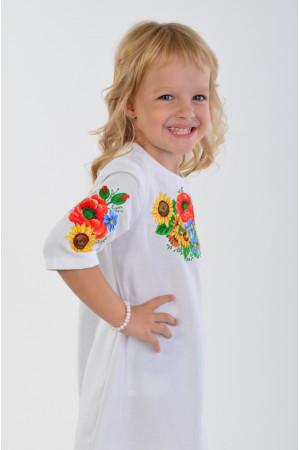 Сукня для дівчинки «Український букет»