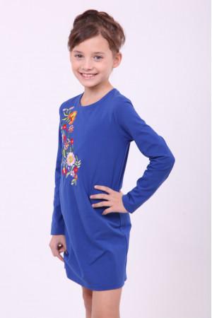 Сукня для дівчинки «Весняна» синього кольору
