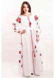 Сукня «Українська традиція» білого кольору