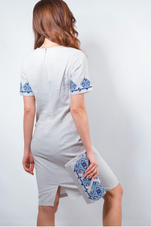 Сукня «Елегія» сірого кольору