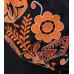 Сукня «Бохо» з вишивкою помаранчевого кольору
