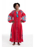 Сукня «Світанок» червоного кольору