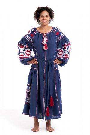 Сукня «Софія» синього кольору