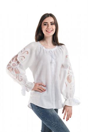 Вишиванка «Диво-квітка» білого кольору