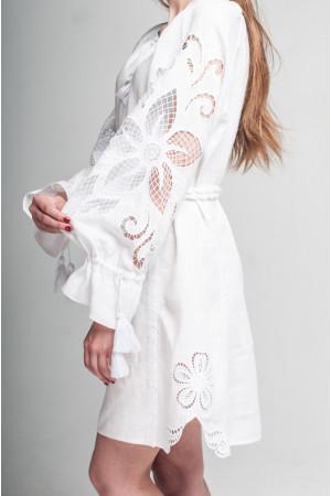 Сукня «Диво-квітка» білого кольору
