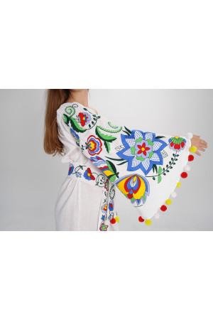 Сукня «Крила літа» білого кольору