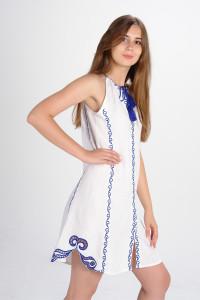 Сарафан «Мавка» білого кольору