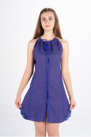 Сарафан «Мавка» фіолетового кольору