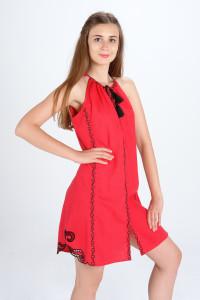 Сарафан «Мавка» красного цвета