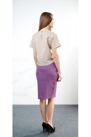 Блуза «Горяна» бежевого цвета