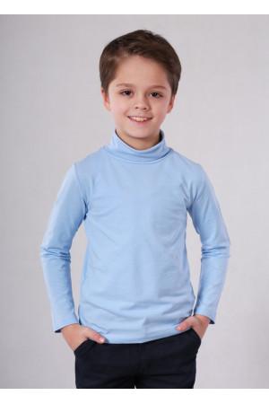 Гольф «Янг» голубого цвета
