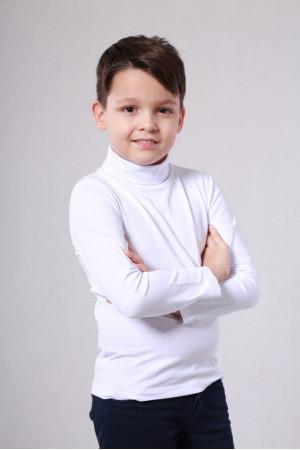 Гольф «Янг» белого цвета