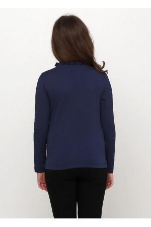 Джемпер «Телези» синего цвета