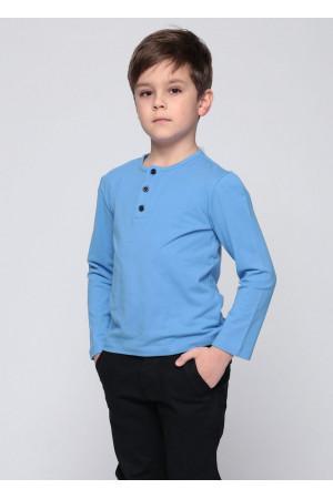 Джемпер «Сториз» голубого цвета