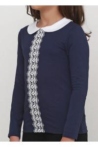 Джемпер «Дора» синего цвета