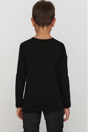 Кофта «Брант» черного цвета