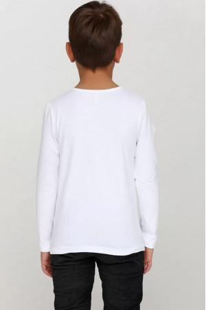 Кофта «Брант» белого цвета
