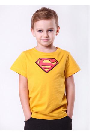 Футболка «Супергерой» жовтого кольору