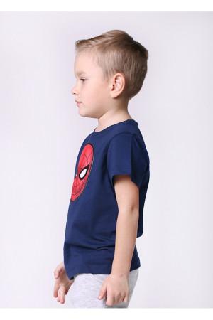 Футболка «Спайдермен» синього кольору