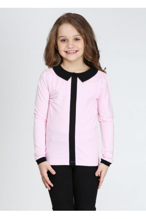 Джемпер «Тантам» розового цвета с черным