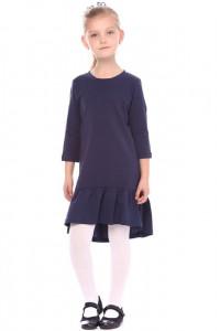 Платье «Штольз» темно-синего цвета