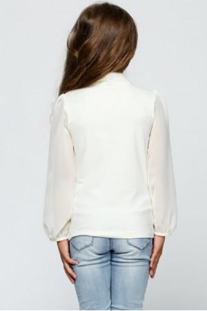 Блузка «Фрайді» молочного кольору