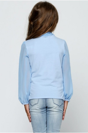 Блузка «Фрайді» блакитного кольору