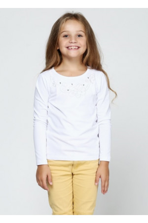 Джемпер «Анабель» белого цвета