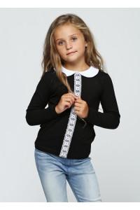 Джемпер «Одри» черного цвета