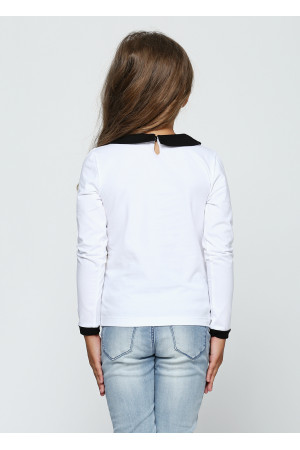 Джемпер «Одри» белого цвета