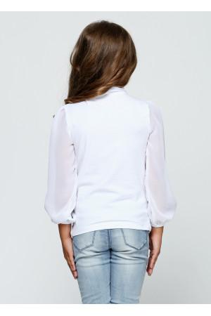 Блуза «Фрайди» белого цвета